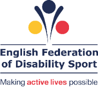 English Federation of Disability Sport logo