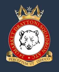 24 (Market Drayton) Squadron, Air Training Corps logo