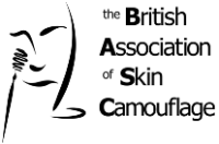 British Association of Skin Camouflage logo