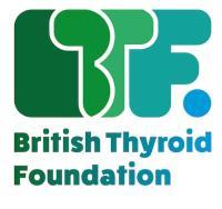 British Thyroid Foundation logo