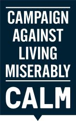Campaign Against Living Miserably (Calm) logo