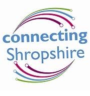 Connecting Shropshire logo