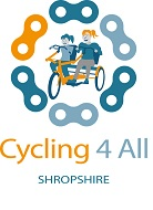 Cycling4All Shropshire logo