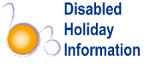 Disabled Holiday Information logo