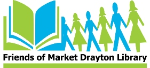 Friends of Market Drayton Library logo
