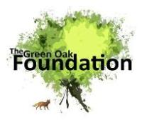 Green Oak Foundation logo