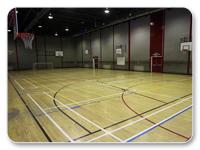 image of a sports court