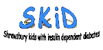 Shropshire KIDS with insulin dependent diabetes