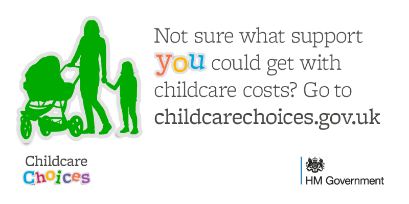 Support with childcare costs explained