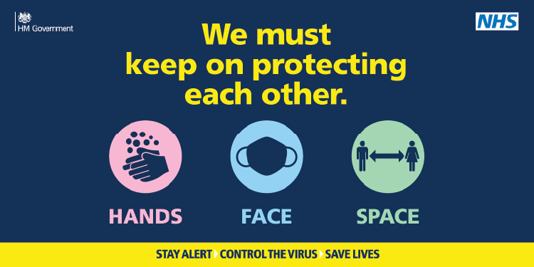 We must keep on protecting each other. Hands, Face, Space images