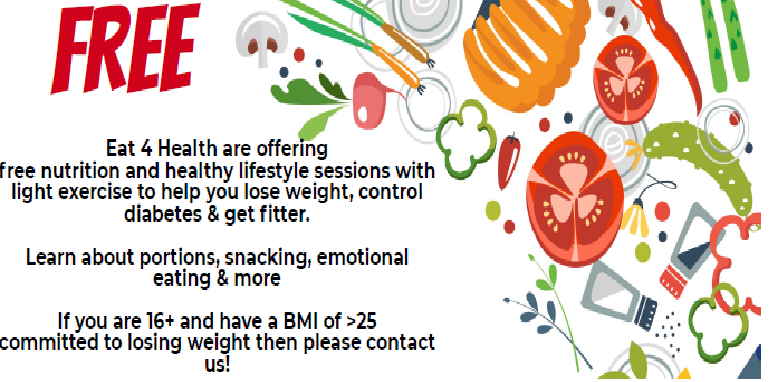 Eat 4 Health free nutrition and healthy lifestyle sessions