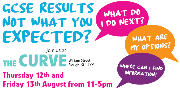 GCSE results not what you expected? Details of information session