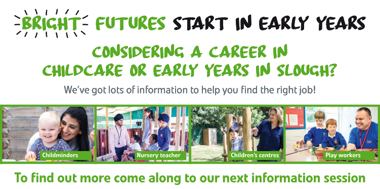 Message to promote careers in Early Years