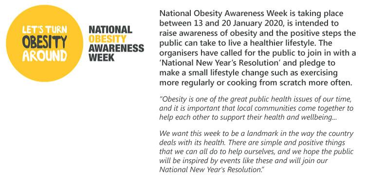 National Obesity Awareness Wee