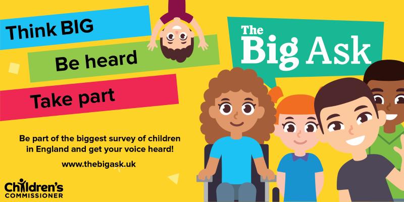 The Big Ask Survey message