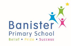 Banister Primary logo