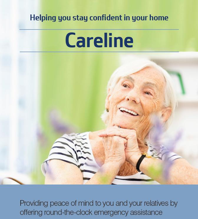 Careline leaflet - image