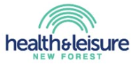 Health & Leisure New Forest logo