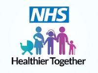 NHS Healthier Together logo