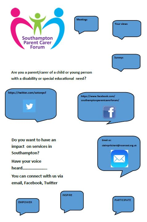 Interact with us flyer