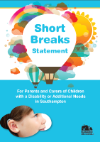 Short Breaks statement image