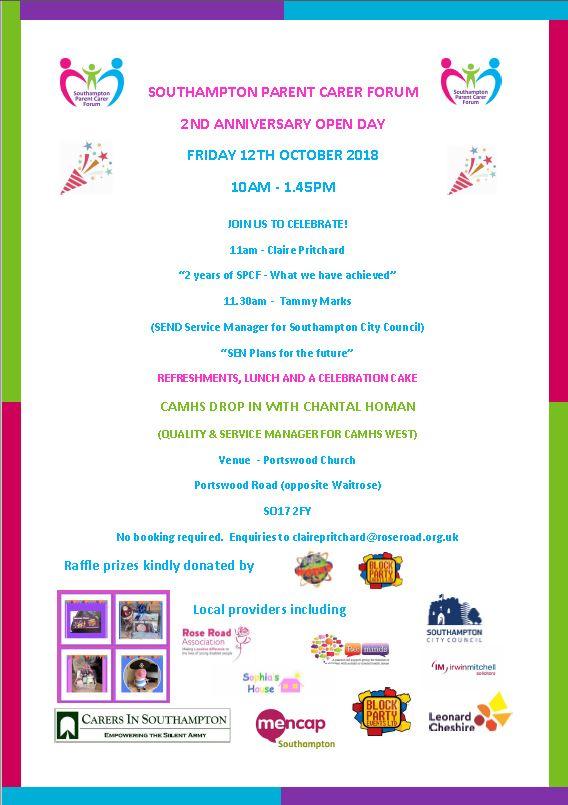 Southampton PCF 2nd Birthday Celebrations