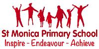 St Monica Primary School logo
