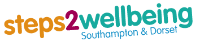 Steps 2 Wellbeing Southampton & Dorset logo