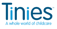 Tinies Childcare logo