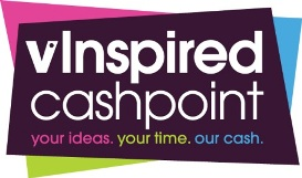 vInspired cashpoint. Your ideas, your time, our cash.