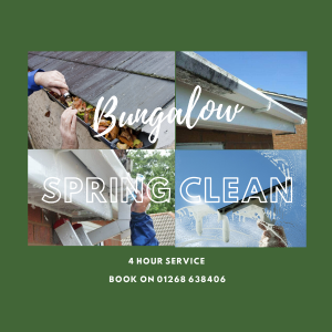 Our bungalow service - available all year round