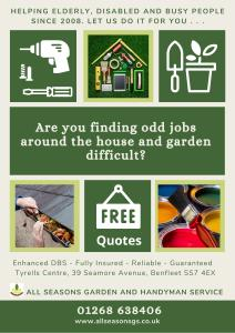 You may have seen our advert in