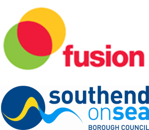 Fusion and Southend Borough Council Logo