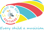 Music on Sea logo