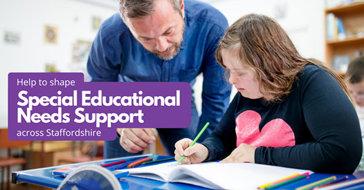 Help to share SEND Support across Staffordshire