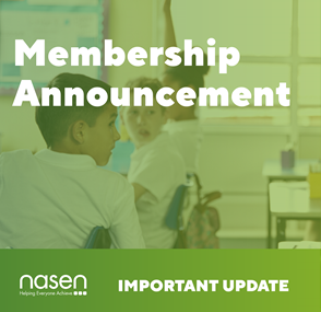 NASEN Membership Announcement