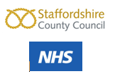 Staffordshire County Council and NHS Logo