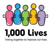 1000 Lives logo