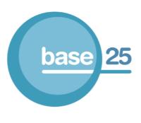 Base 25 logo
