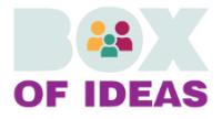 Box of ideas website