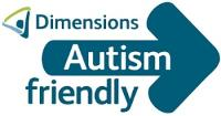 Dimensions Autism Friendly logo