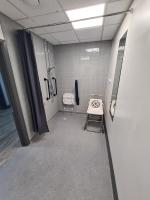 Disabled changing room