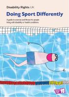 Doing sport differently guide cover page
