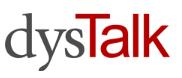 dysTalk logo