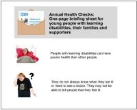 Easy Read Annual Health Checks