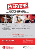 Exercise classes in Cannock