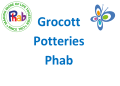 Grocottpotteriesphab Logo