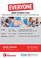 Health Checks in Tamworth and Lichfield