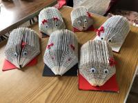 Book hedgehogs
