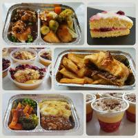 A selection of our meals and desserts